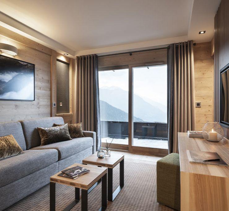 Suite - appartement - Hôtel Alpen Lodge la Rosière | MGM Hôtels & Résidences