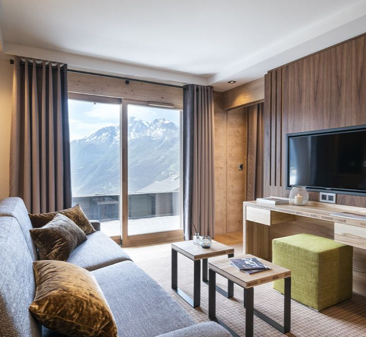 Executive apartment suite - Hôtel Alpen Lodge la Rosière | MGM Hôtels & Résidences