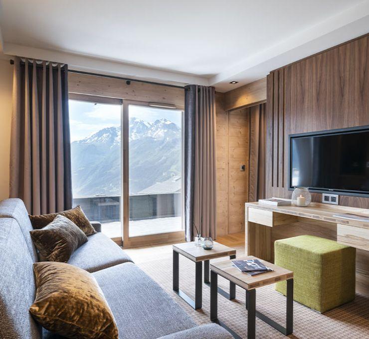 Suite - appartement Exécutive - Hôtel Alpen Lodge la Rosière | MGM Hôtels & Résidences
