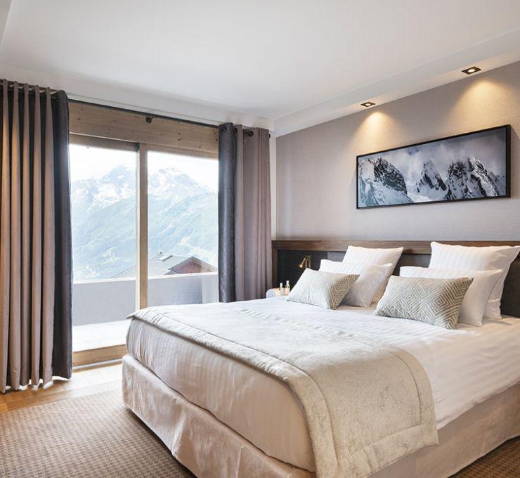 Suite Junior - Hôtel Alpen Lodge la Rosière | MGM Hôtels & Résidences