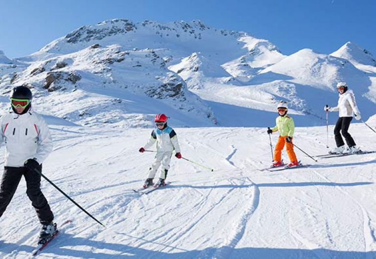 Ski and well-being with family at Les Houches | MGM Hôtels & Résidences