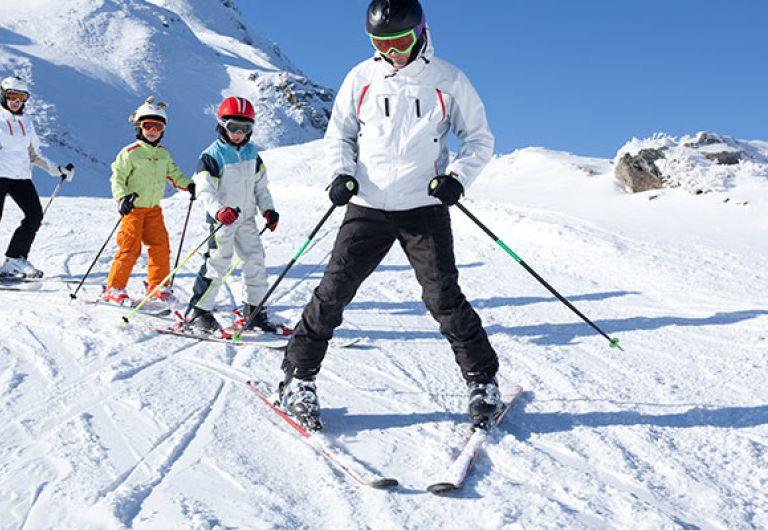 Vacances en Famille - Février Chamonix  | MGM Hôtels & Résidences