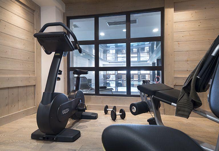 Salle de Fitness - Spa à la montagne | MGM