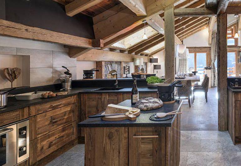 Chalet la ferme de Juliette - kitchen - Le Grand-Bornand | MGM