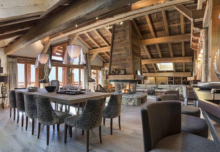 Chalet la ferme de Juliette - salle à manger - Le Grand-Bornand | MGM
