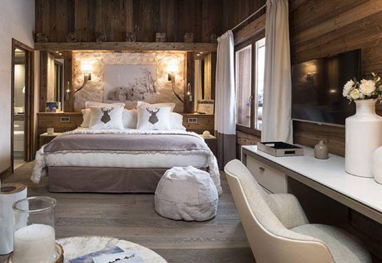 L'Écrin de Jade - white bedroom - Chamonix-Mont-Blanc | MGM