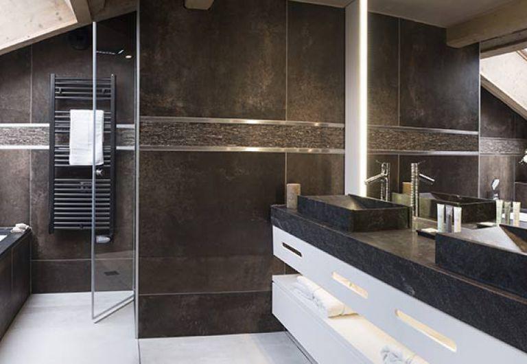 L'Écrin de Jade - salle de bains - Chamonix-Mont-Blanc | MGM