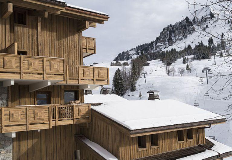 Exterieur enneigé - Roc des Tours - Le Grand-Bornand - MGM