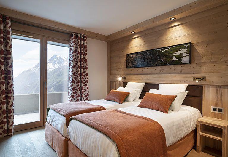 Apartment Bedroom Résidence Alpen Lodge - La Rosière | MGM Hôtels & Résidences