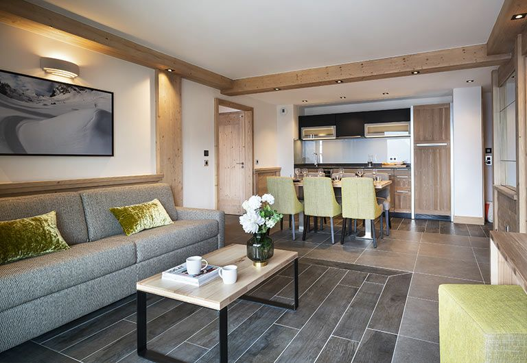 Apartment Livingrom Résidence Alpen Lodge - La Rosière   MGM Hôtels & Résidences
