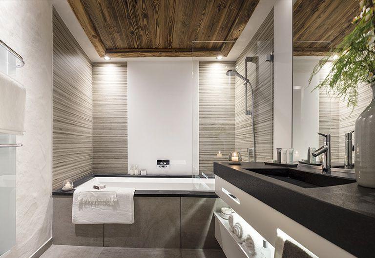 Bathroom  - Cristal de Jade***** - Chamonix-Mont-Blanc- MGM
