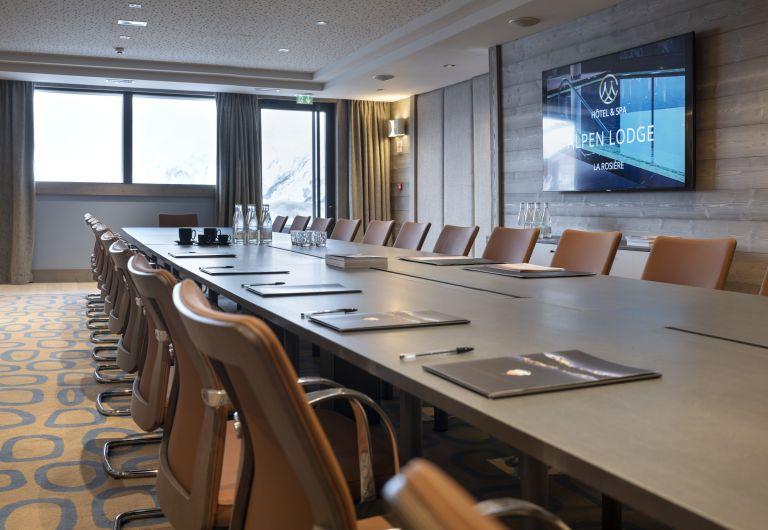 Les séminaires - Hôtel Alpen Lodge - La Rosière | MGM Hôtels & Résidences