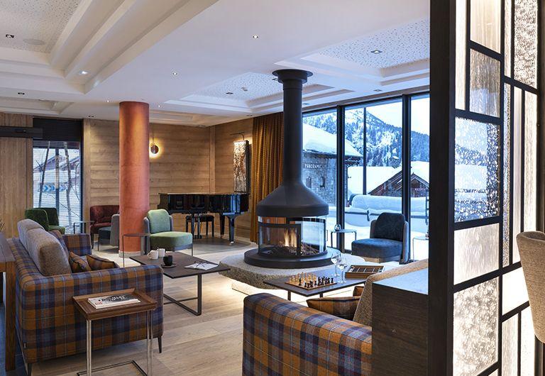 Bar lounge M'Bar - Résidence Alpen Lodge - La Rosière | MGM Hôtels & Résidences