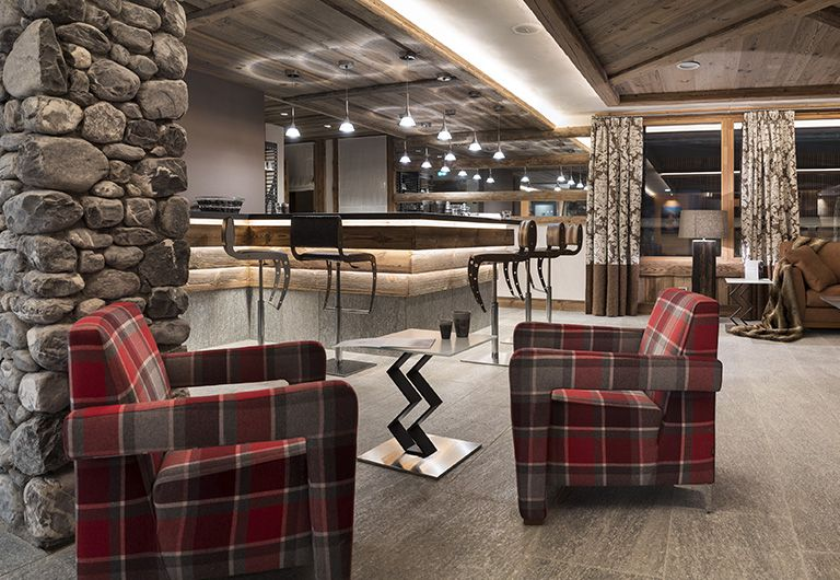 Bar Lounge  - Cristal de Jade*****- Chamonix-Mont-Blanc- MGM