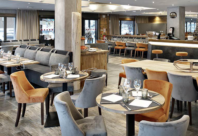Bar Lounge et restaurant - L'Hôtel Alexane | MGM Hotels & Residence