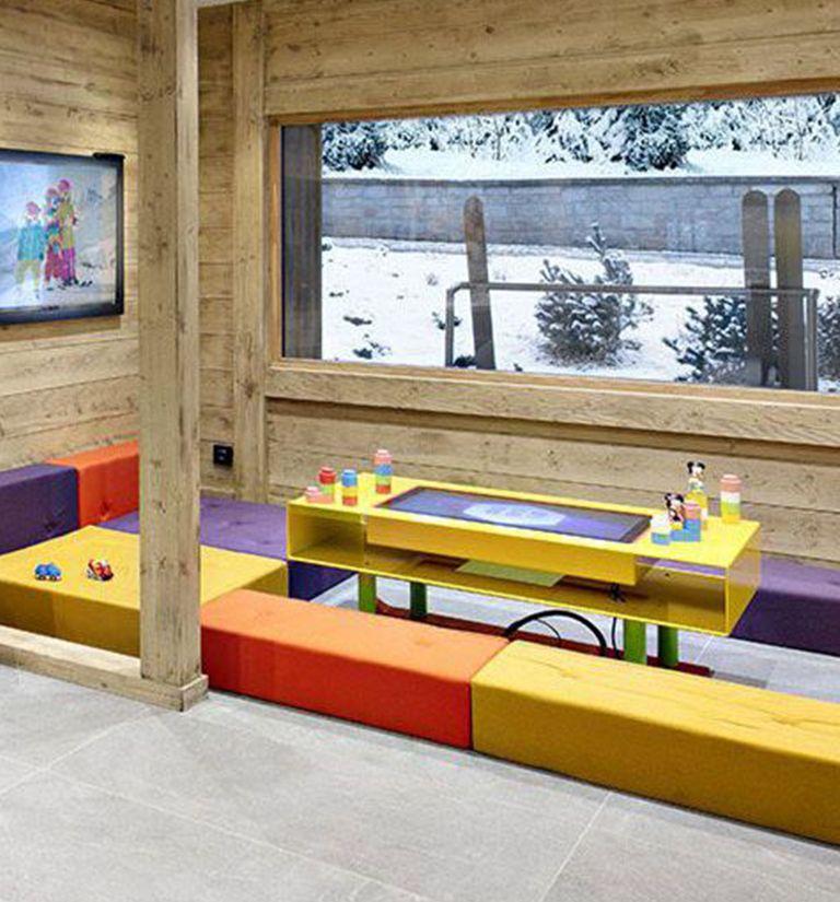 Espace enfants   Résidence Chalets Laska - Contamines-Montjoie   MGM Hôtels & Résidences