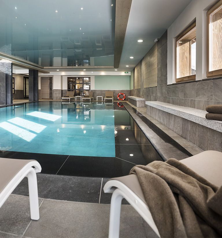 Swimming pool - Le Roc des tours - Le Grand-Bornand   MGM