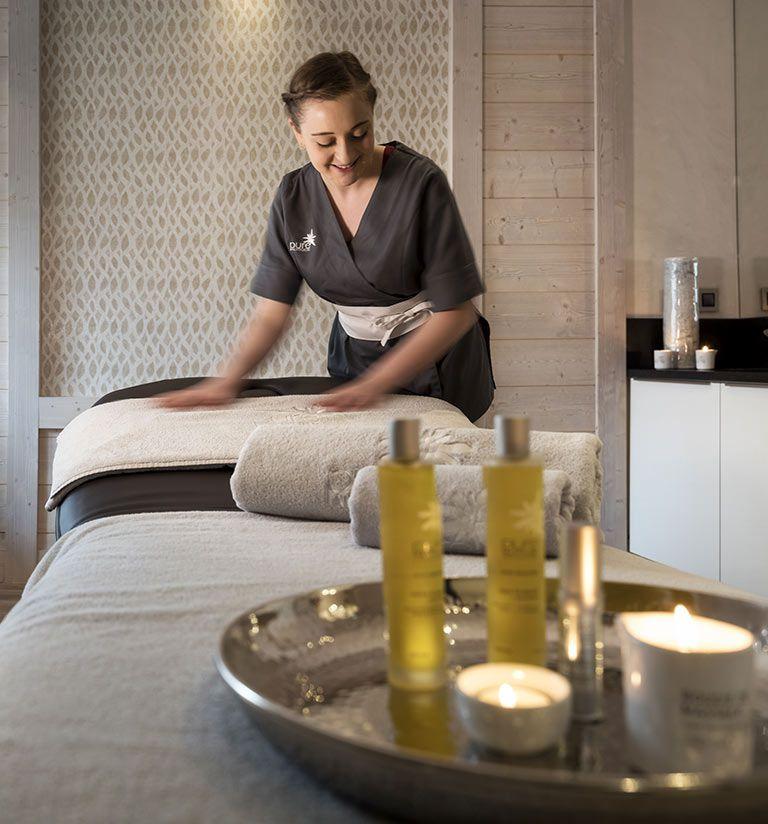 Treatment cabins - Le Roc des Tours - Les Grand-Bornand | MGM