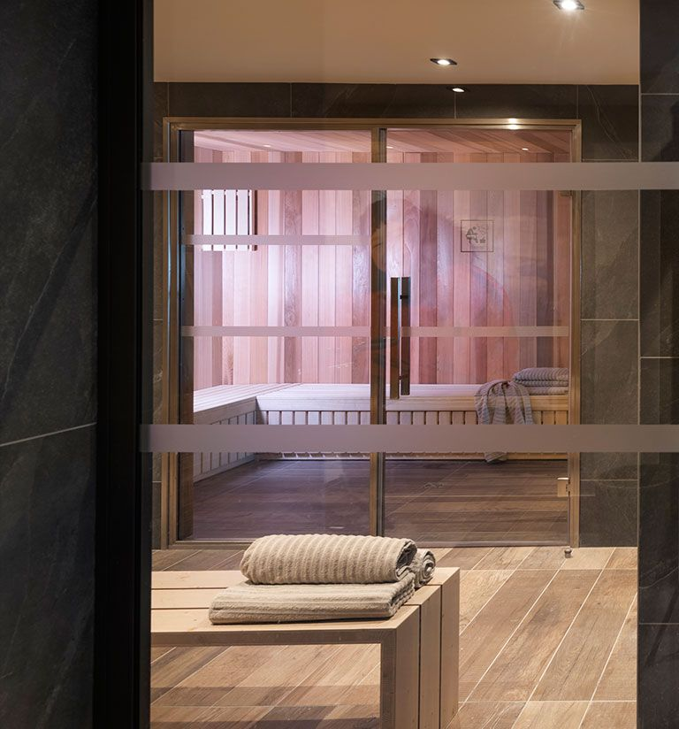 Sauna - Résidence Amaya - Les Saisies   MGM Hôtels & Résidences