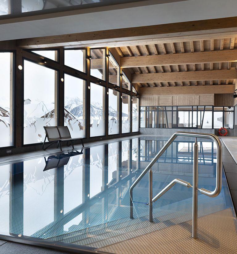 Piscine à débordement - Alpen Lodge - La Rosière | MGM Hôtels & Résidences