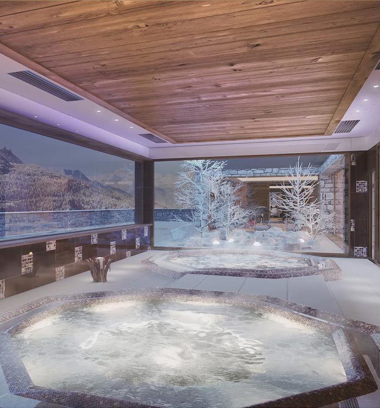 Hot tub - Alpen Lodge - La Rosière | MGM Hôtels & Résidences