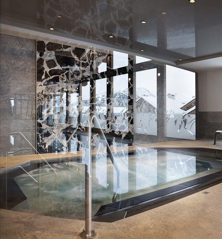 Bains Bouillonnants - Alpen Lodge - La Rosière | MGM Hôtels & Résidences
