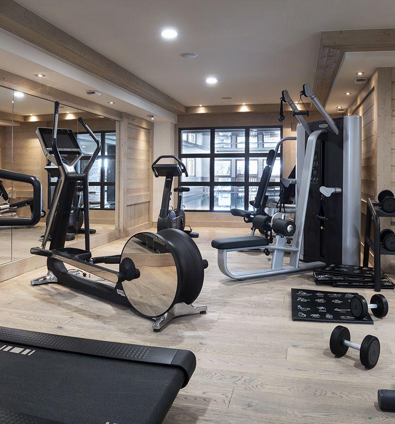 Fitness room - Le Roc des tours - Le Grand-Bornand   MGM